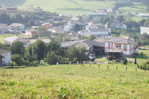 Vista Parcial de Anleo desde Santa Lucía - Se abre en ventana nueva