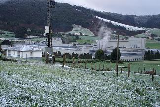 Anleo con nieve en febrero de 2005 - Se abre en ventana nueva