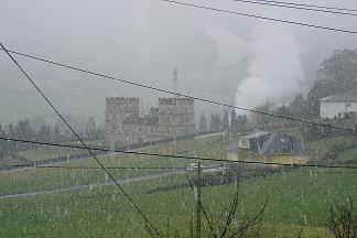 Nevando en Anleo el 26-02-2005 - Se abre en ventana nueva