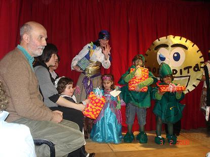 Parte de los premiados del Carnaval 08 - Se abre en ventana nueva