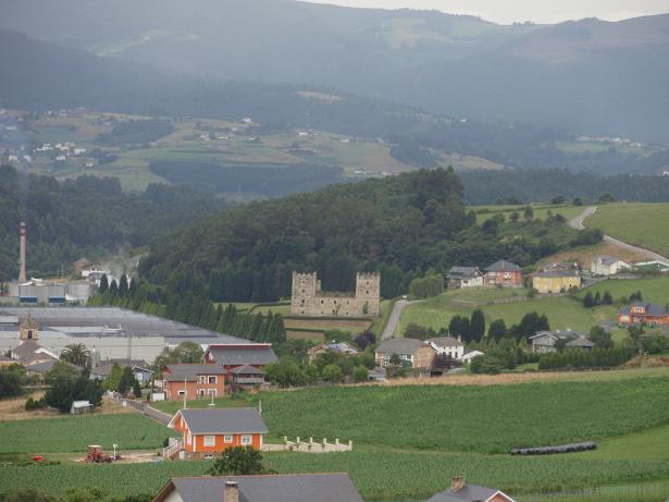 Anleo visto desde Puñil 24.07.2008 - Se abre en ventana nueva