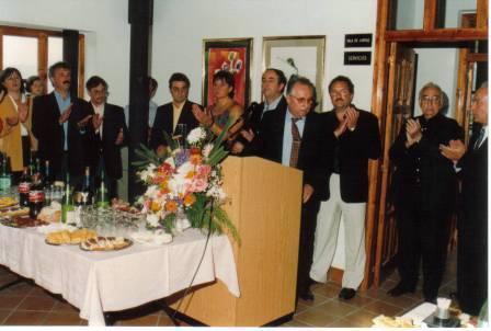 D.Manuel Bedia, como Alcalde del Ayuntamiento de Navia - Se abre en ventana nueva