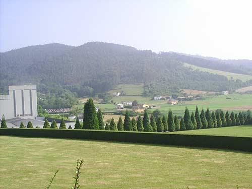 Vista parcial de Anleo desde el Palacio - Se abre en ventana nueva