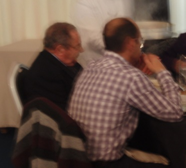 asistentes a la comida del Dia de la tercera edad..12-12-2010 - Se abre en ventana nueva