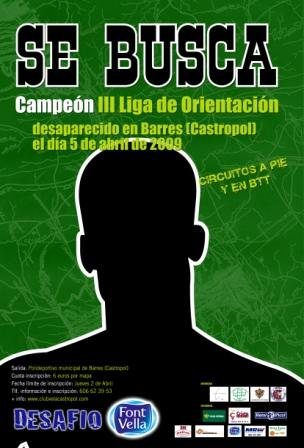 cartel de Orientación Concejo de Castropol