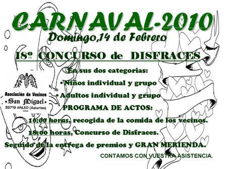 cartel del Carnaval 2010 - Se abre en ventana nueva