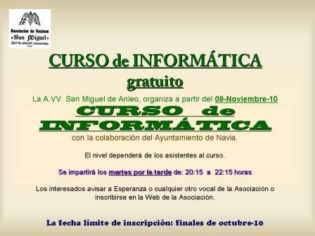 cartel Curso Informática nov. 10 - Se abre en ventana nueva