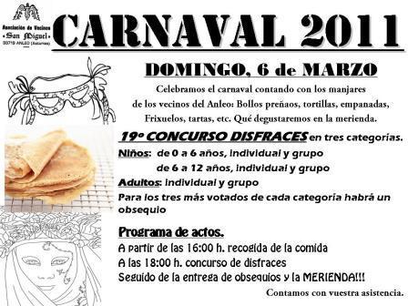 cartel de carnaval 2011 - Se abre en ventana nueva