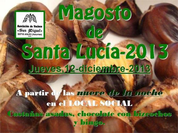 CARTEL MAGOSTO 2013 - Se abre en ventana nueva